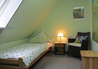 Einzelschlafzimmer Ferienhaus Hude